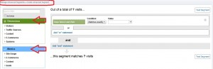 advanced segmentation with google analytics
