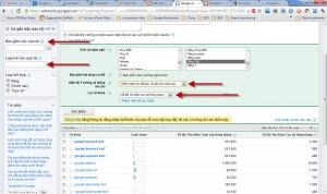 Description: google keyword tool các bộ lọc