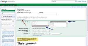 Description: google keyword tool tuỳ chọn nâng cao