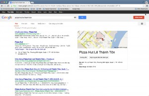 pizza hut le thanh ton on google vietnam