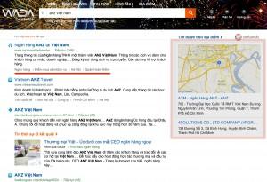 anz viet nam on wada.vn result page