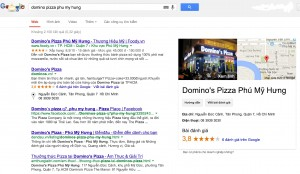 domino pizza phu my hung on google