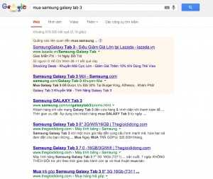 mua samsung galaxy tab 3 on google.com.vn