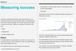 measuring success of social media